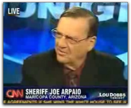 picture of Arpaio on CNN