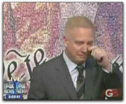 Picture of Glenn Beck crying