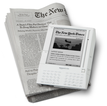 NY Times Kindle