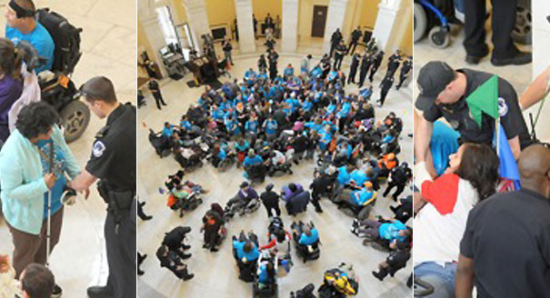 Longworth Office Building Floor Plan: Disability Rights Activists Are Even Invisible Getting