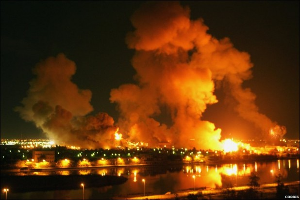 """Shock and Awe"" in the invasion of Iraq"