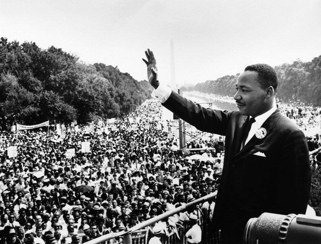 Martin Luther King at the March on Washington