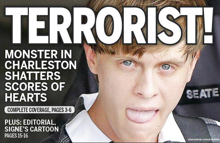 Charleston Massacre Media Coverage Recognizing The Crime