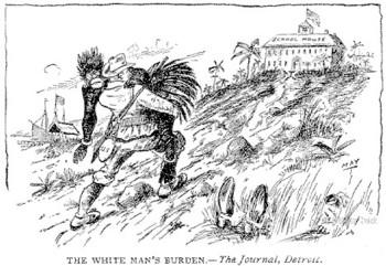 white mans burden cartoon | FAIR