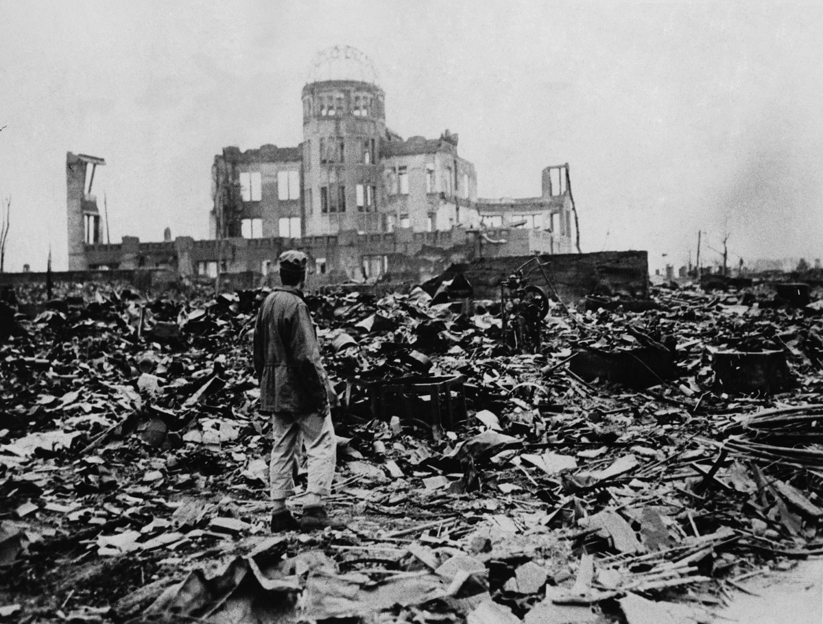 Hiroshima aftermath (photo: AP)