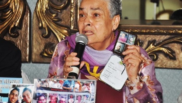 Maria Herrera Magdaleno, mother of four disappeared children  (Image: Telesur via Popular Resistance)