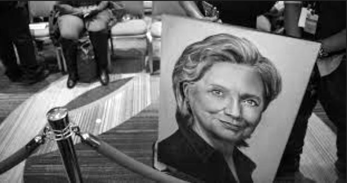 Clinton campaign photo