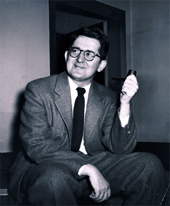 A.M. Rosenthal, in an AP photo from 1965
