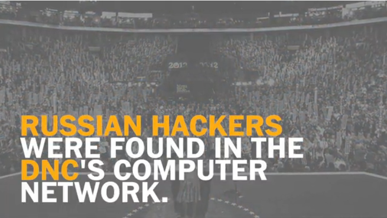 Washington Post: Russian Hackers Were Found in the DNC's Computer Network