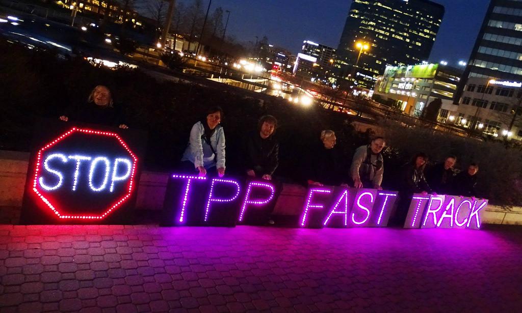 Stop TPP Fast Track (cc photo: Backbone Campaign)