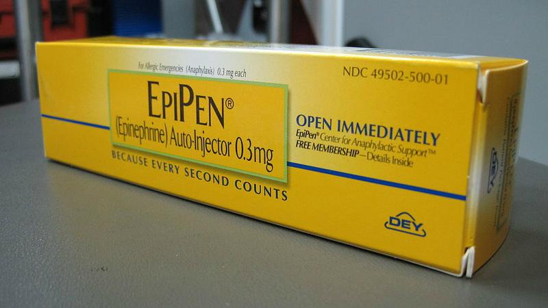 EpiPen (photo: Intropin/Wikimedia)