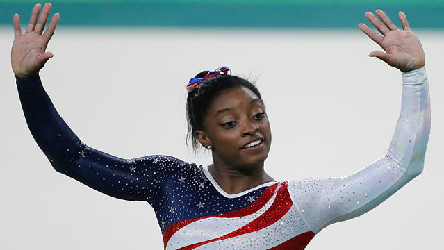 Simone Biles biological mom speaks out