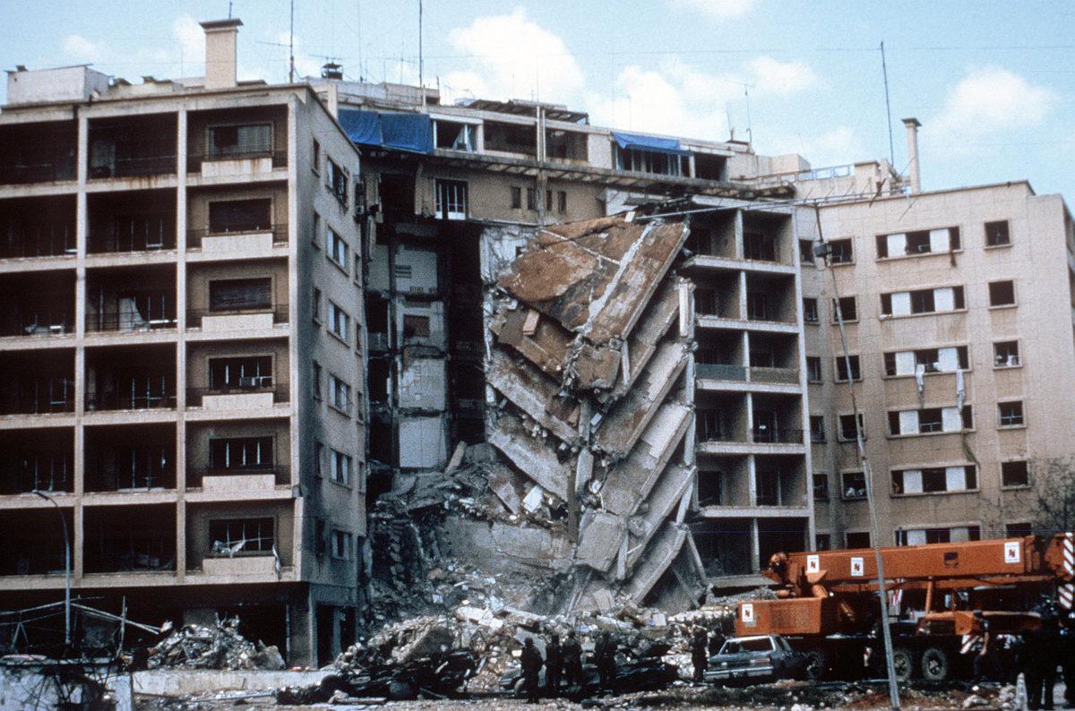 Beirut embassy bombing (photo: US Army)
