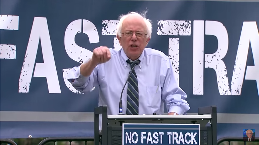 At WaPo, You Can Say Anything to Support TPP–or to Smear Sanders
