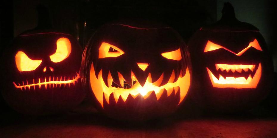 Scary pumpkins (cc photo: Jim Naureckas)