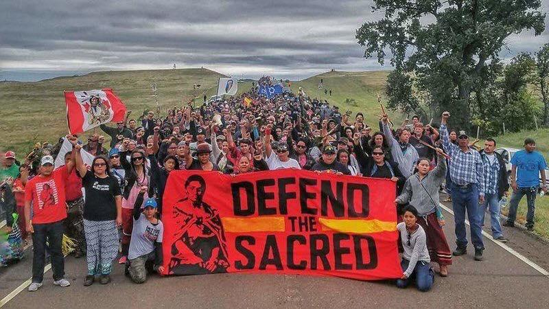 Defend the Sacred: #NODAPL demonstration