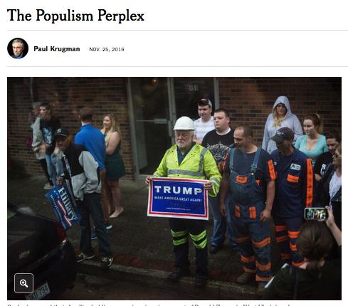 New York Times: The Populism Perplex