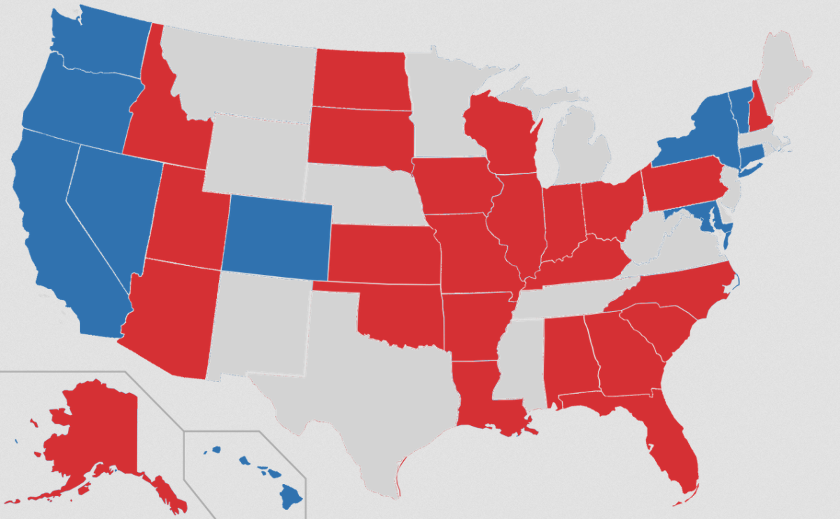 States with Senate races in 2016