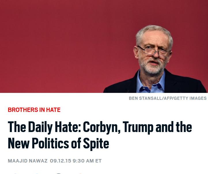 Daily Beast: The New Politics of Spite