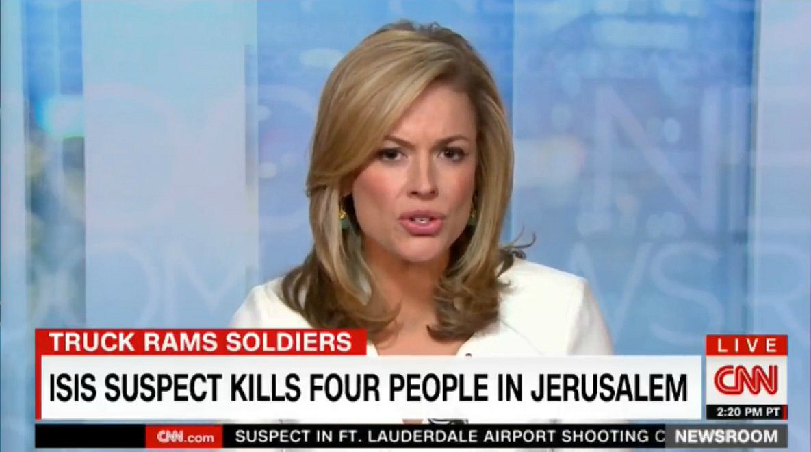 CNN: ISIS Suspect Kills Four People in Jerusalem