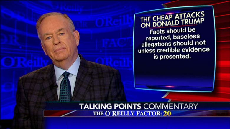 Bill O'Reilly defends Donald Trump