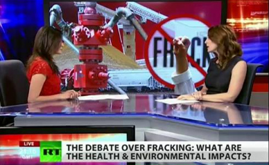 RT coverage of fracking