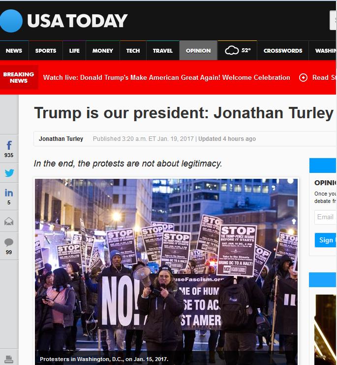 USA Today: Jonathan Turley