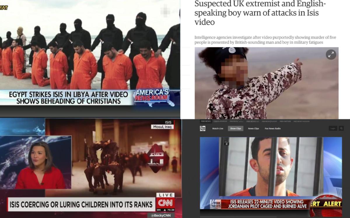 ISIS propaganda stories