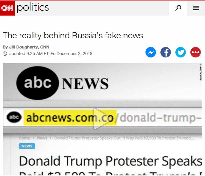 CNN: The reality behind Russia's fake news