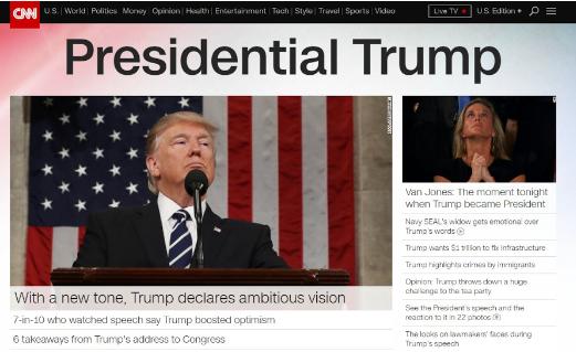 CNN: Presidential Trump