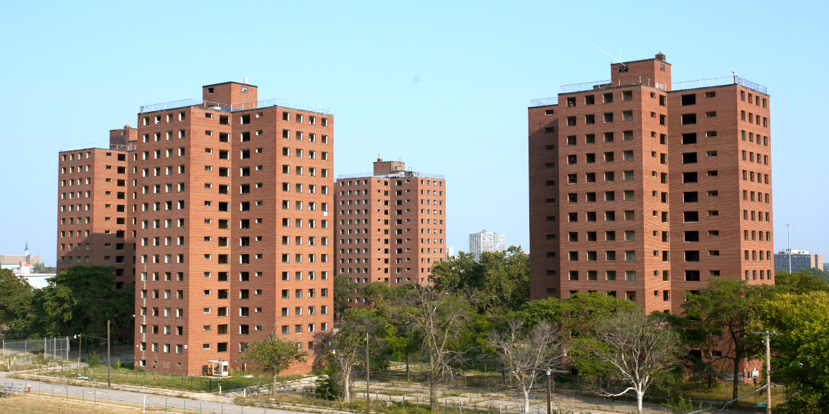 Frederick Douglass Houses, Detroit, Michigan (cc photo: Albert Duce/Wikimedia)