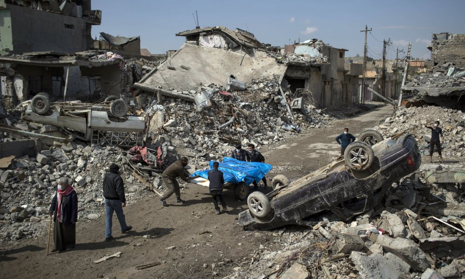 Guardian photo of Mosul aftermath