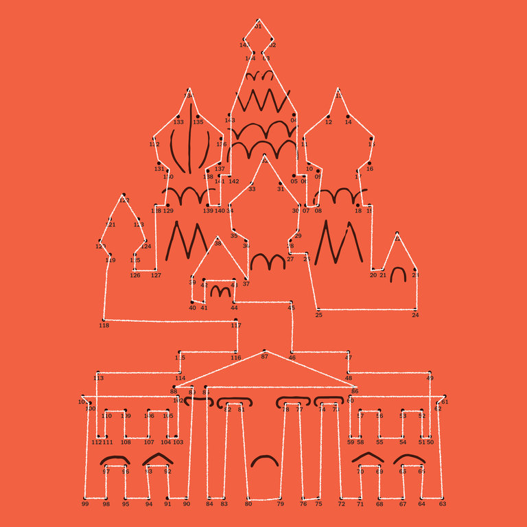 New York Times illustration of Kremlin and White House (image: Francis Ben)