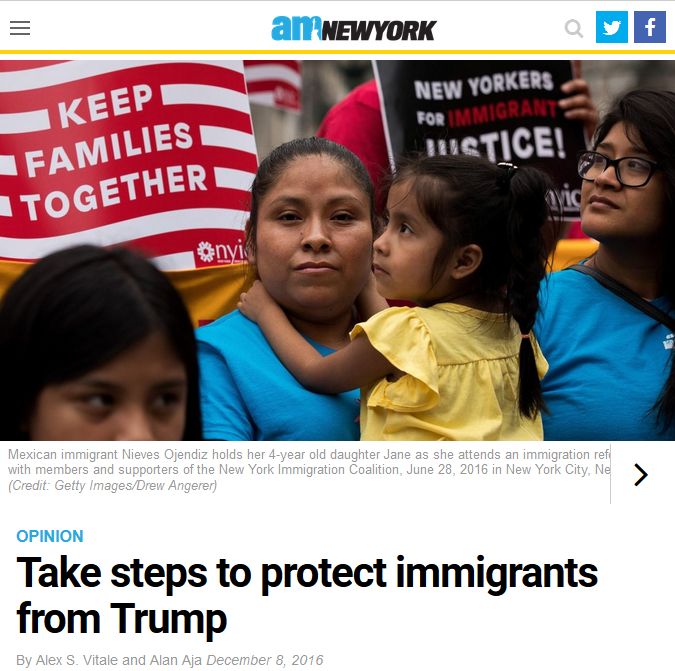 AM New York: Take steps to protect immigrants from Trump
