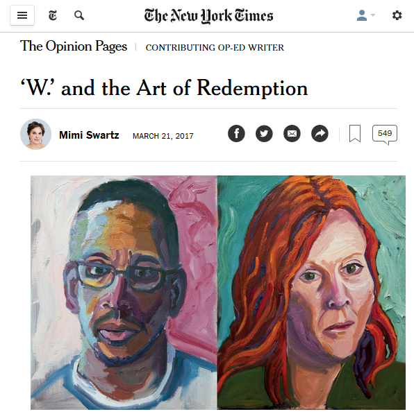 NYT: W and the Art of Redemption