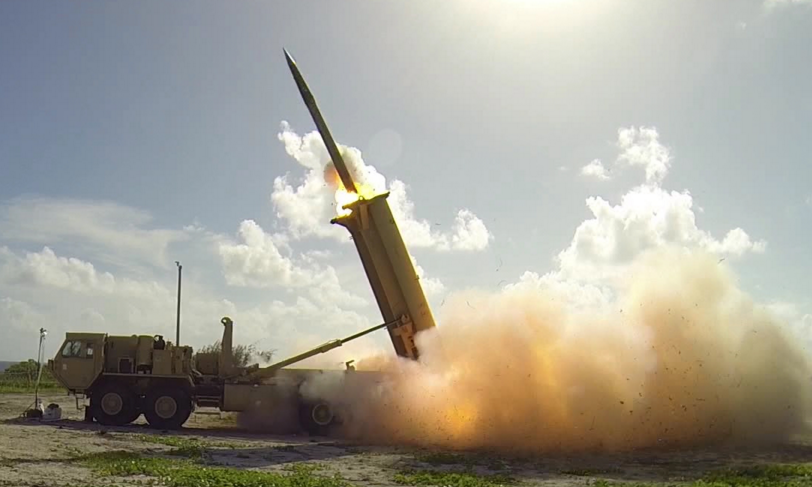 THAAD anti-missile test (photo: DoD/Lockheed Martin)