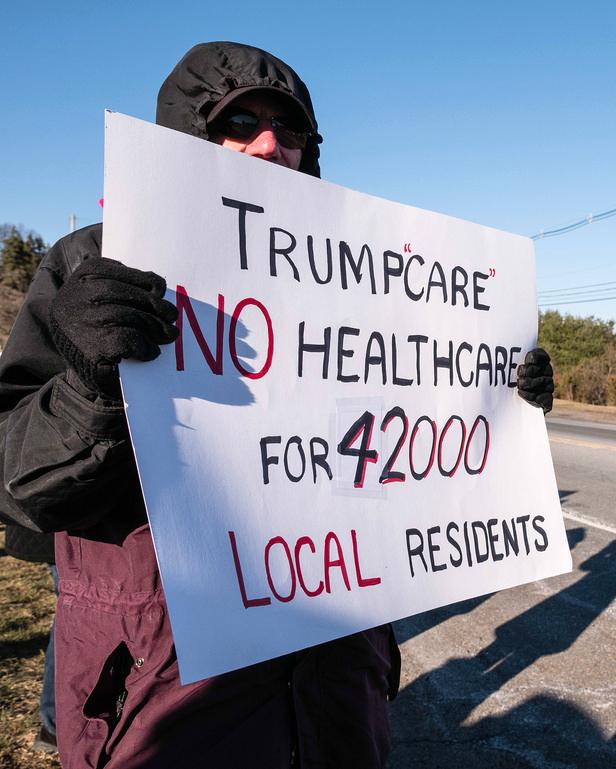 Trumpcare No Healthcare for 42,000 local residents (cc photo: John Flores)