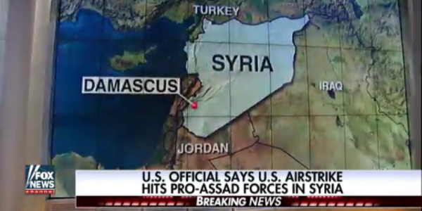 After US Bombs Syrian Government for Third Time in 8 Months, Media Ask Few Questions