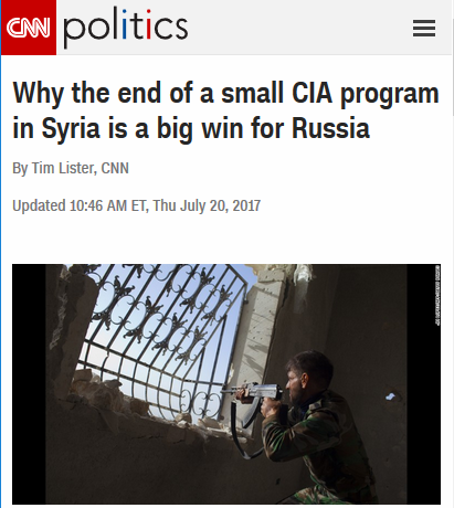 Media Mourn End of CIA Killing Syrians and Strengthening Al Qaeda | FAIR