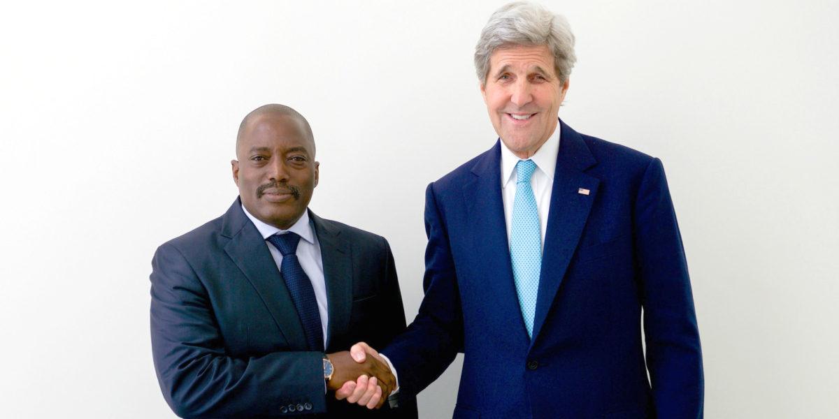 Lawrence Kabila, John Kerry (photo: State Department)