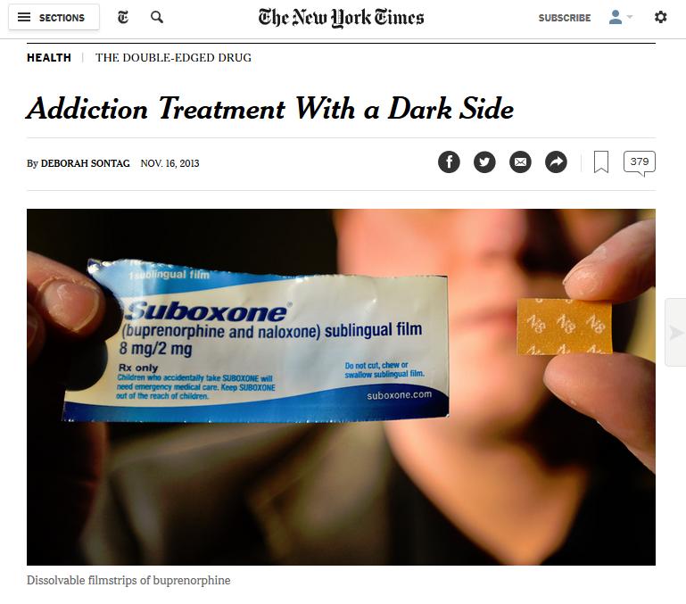 NYT: Addiction Treatment With a Dark Side
