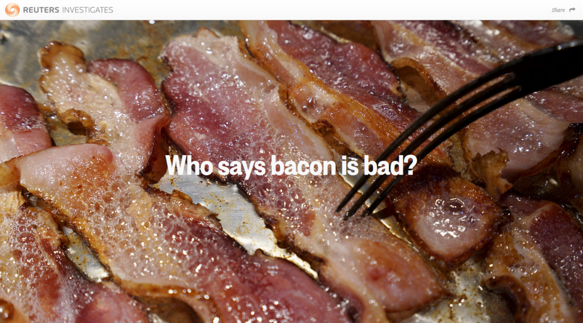 Reuters: Who Says Bacon Is Bad?