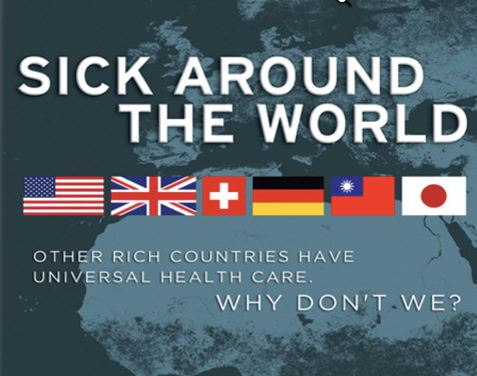 frontline sick around the world essay Percentage of gross domestic product (gdp) spent on health care: 83 average  family premium: none funded by taxation co-payments:.