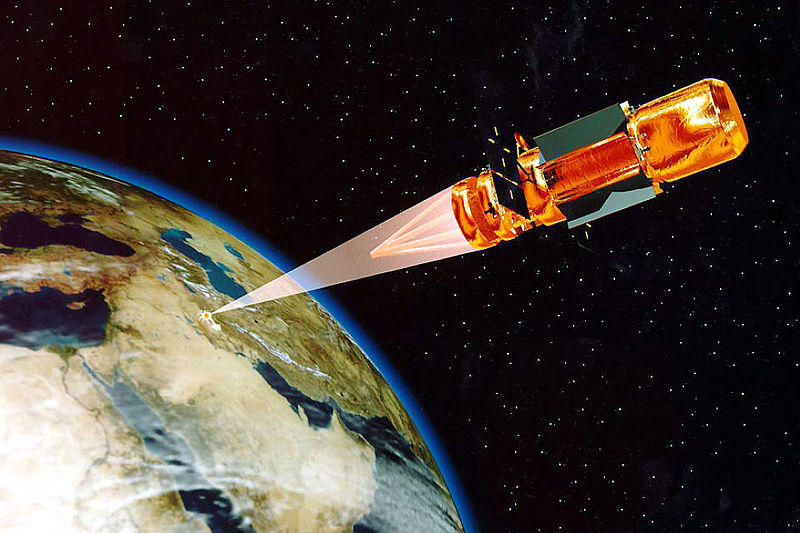 space-based laser (image: US Space Command)