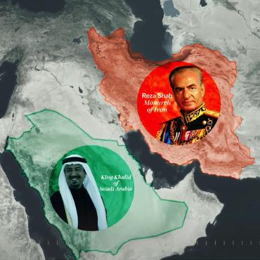 Vox: Saudi king and Shah of Iran