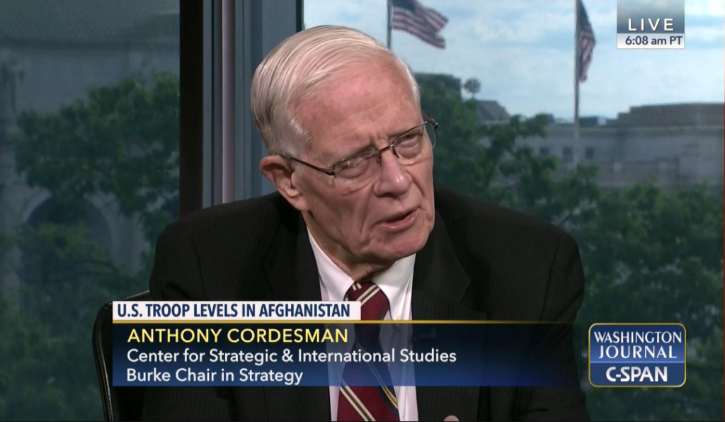 CSIS's Anthony Cordesman (C-SPAN)