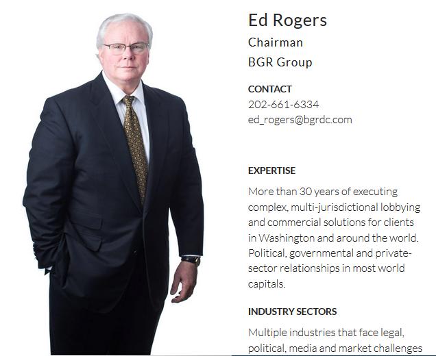 Ed Rogers' BGR profile.