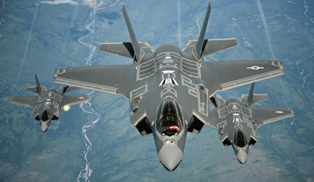 F35 fighters (photo: US Air Force/Madelyn Brown)