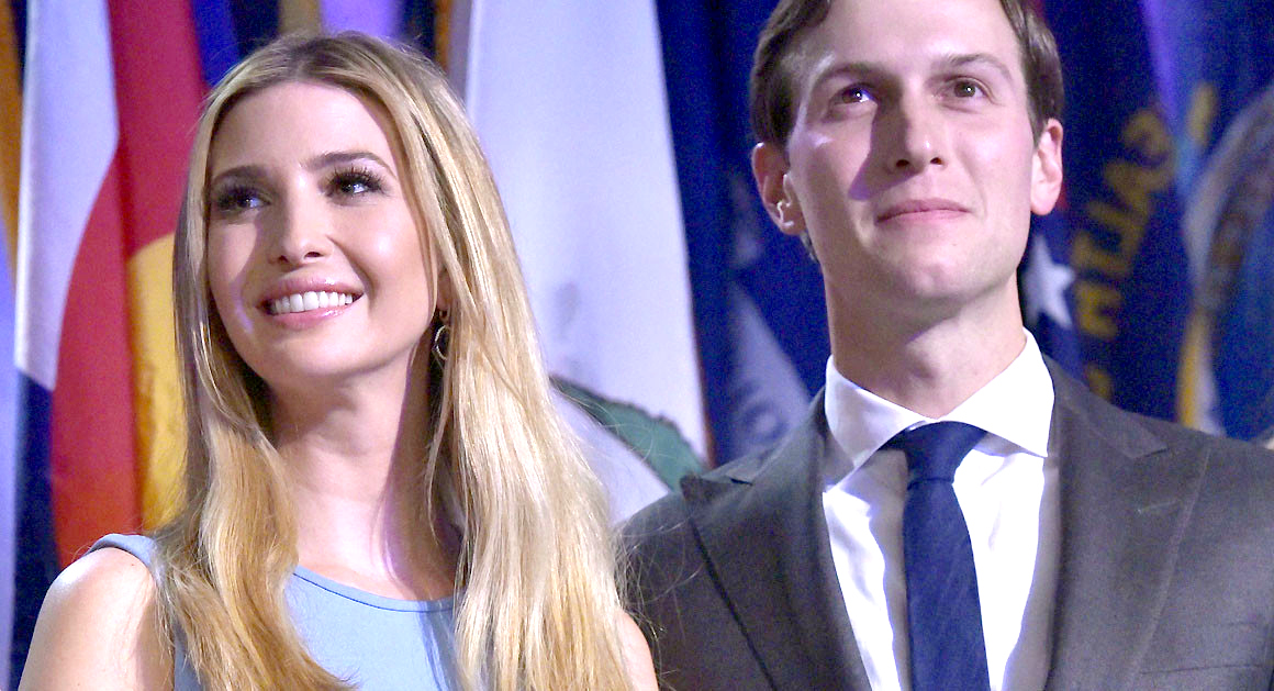 Corporate Media's Soft Spot for Ivanka Trump and Jared KushnerCNN - First Family Of The United States - Ivanka Trump - Jared Kushner - LGBT Rights By Country Or Territory - Paris - Politico - Presidency Of George W Bush - The New York Times - Us Weekly