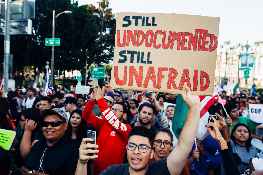 Immigrant protest (cc photo: Molly Adams